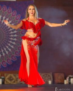 Tancerka belly dance